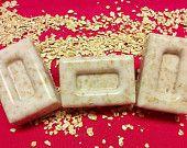 Goats Milk Soap - Oatmeal & Honey - Bars, Decorative or Disc Soaps  2 ounce bar (qty 3)  9.99 ///// Disc or Decorative soaps (qty 5)  7.99