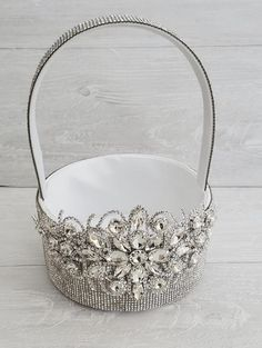 """Details about  /Mesh string basket organza pouch bag /""""Our Wedding/"""" White with Gold; 12 pieces"""