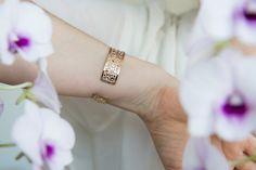Rose Gold cuff By Kelka Jewelry