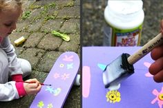 Mini-skateboard craft - Birthday Party Craft and Party Favor Ideas - ParentMap Skateboard Party, Vans Skateboard, Summer Birthday, Birthday Ideas, Party Themes, Party Ideas, Craft Party, Our Kids, Games For Kids