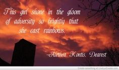 The Gloom Of Adversity quote from Dearest by Alethea Kontis Ya Books, Book Club Books, Books To Read, Adversity Quotes, Sisters Book, Reading Post, Her Cast, Graphic Quotes, Books For Teens