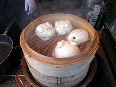 Animal dumplings crazy dumplings Chinese dumplings jiaozi www.twoamericansinchina.com