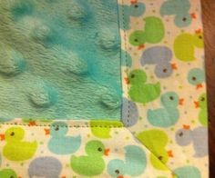 How to Sew a Nice Corner on a Blanket - Snapguide:  love this idea perfect for the next flannel baby blanket