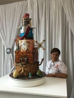 Game of Thrones Cake! Puerto Rico Art Competicion!