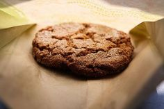 Starbucks Ginger Molasses Cookie Hack   I love these cookies!
