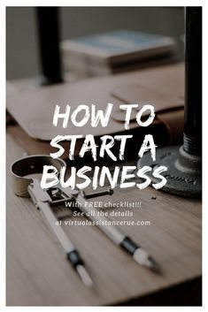 Starting a business has never been easier, but sadly theres no one telling you what the steps are to get there. We made it easy and compiled a list just for you.