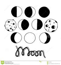 Lua Dos Desenhos Animados E Fases Da Lua Ilustração Do Vetor - Baixe conteúdos de Alta Qualidade entre mais de 43 Milhões de Fotos de Stock, Imagens e Vectores. Registe-se GRATUITAMENTE hoje. Imagem: 53269823