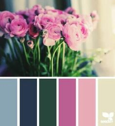 I totally love all these color inspirations!
