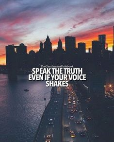Always speak the truth!
