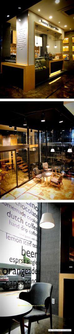 ~ korea   '대한민국'    Daegu '로아' cafe    Design by hl    Interior Designer ... really nice #cafe #design