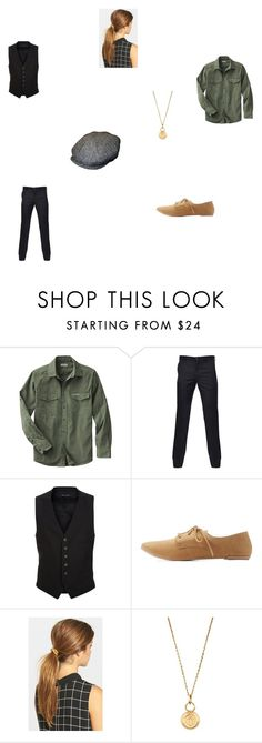 """""""Josephine~Newsies"""" by pinkie-shy on Polyvore featuring Paul Smith, Tom Ford, Qupid, Ficcare and Aurélie Bidermann"""