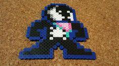 Venom & Anti-Venom Bead Sprites Spiderman by DCBPerlerSprites Perler Beads, Fuse Beads, Marvel Cross Stitch, Pixel Art Grid, Super Hero Shirts, Pixel Beads, 8 Bit Art, Hama Beads Patterns, Hobby