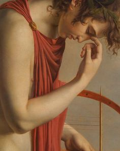 Attributed to Hugues Jean François Paul Duqueylard, Orpheus (Detail) Beauty In Art, Male Beauty, Close Up Art, Lotus Art, Pre Raphaelite, Greek Art, Detail Art, Love Painting, Modern Artwork