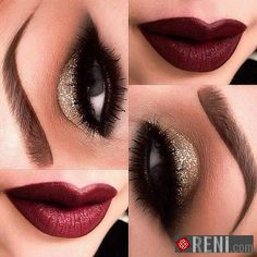 Sparkling Hot Makeup!!!  #Makeup #EyeShadow #Lipsticks
