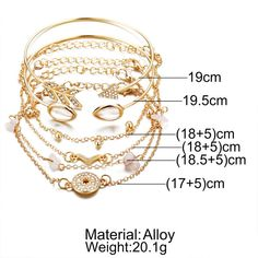 Bohemian Cuff Bracelets S Compass Arrow V Shape Charm Gold Chains Bracelets Set Trendy Jewelry Metal Color Cute Bracelets, Fashion Bracelets, Bangles, Trendy Jewelry, Bracelet Set, Metal Jewelry, Compass, Gold Chains, Arrow