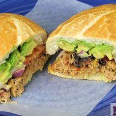 @allaboutpork  Mexican Pulled Pork torta is on my #PorkBucketList #promo