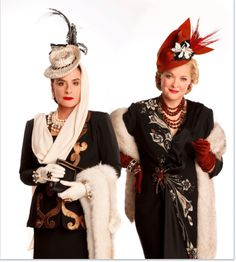 """Patti LuPone, left and Christine Ebersole, stars of """"War Paint"""" (Joan Marcus("""