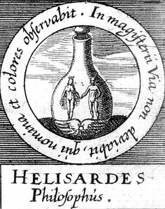 ALQUIMIA VERDADERA: Emblema 44. Helisardes, filósofoQuien anote nombres y colores no se desviará de la senda del Magisterio.