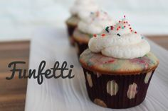 Unusually Lovely: Create Something - Blog - Funfetti Cupcakes