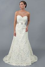 Leah gown by Modern Trousseau Charleston, SC - Perfect for a garden wedding!