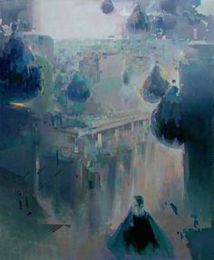 "Saatchi Art Artist Pavel Lisiy; Painting, ""Fliegeralarm"" #art"