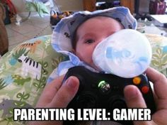 Father's Day gifts - Dad: Multitasking - Parenting level: Gamer