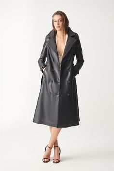 Lambskin Leather Jacket, Leather Jackets, Turkish Lamb, Short Waist, Trench, Duster Coat, Turkey, Models, Pure Products