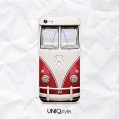 Retro Volkswagen Bus phone case for iPhone 4/4s 5/5s by Uniqstyle, $9.99
