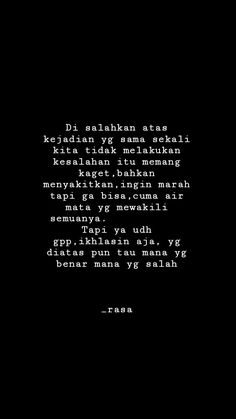 Me Quotes, Qoutes, Quotes Indonesia, Always Remember, Doa, Note To Self, Captions, Feelings, Random