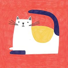Cat illustration.