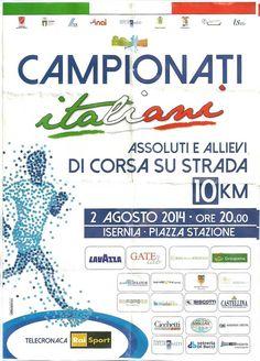 Campionati Italiani Assoluti e Allievi di Corsa su Strada - 2 Agosto 2014 - Isernia