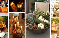 32 Lovely Pumpkin Centerpiece Ideas for Your Holiday Table