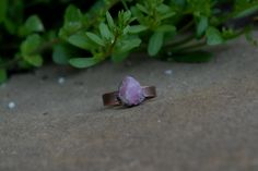 Rustic and Bohemian Electroformed Natural Raw Pink Tourmaline Crystal Oxidized Copper Ring SIZE 6 by KyaraCreations on Etsy Tourmaline Gemstone, Pink Tourmaline, Emotionally Numb, Copper Rings, Bohemian, Rustic, Crystals, Natural