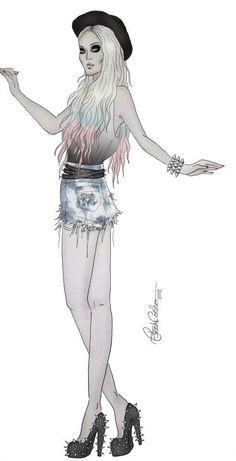 Desenho de Moda    http://www.enmoda.com.br/consultoriadeimagem/