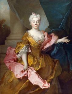 Portrait of Madame Isaac de Thellusson by Nicolas de Largillière, 1725, English Heritage