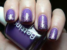 Purple sparkle on purple!