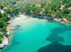 Aliki or Alikies, Thassos, Greece... Spent the day here... Amazing!