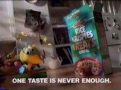 Even in 1994 One taste was never enough. In 2015 the same logo is being stated for this brand.