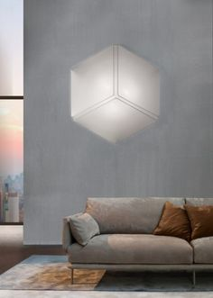Fabric wall lamp / ceiling lamp NECKY - @AxoLight