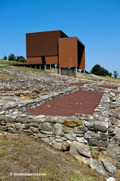 Roman village remains Villa romana de Veranes, #Gijon #Asturias #España #Spain. Qué ver en Gijón. [Más info] http://www.desdeasturias.com/villa-romana-de-veranes-gijon/