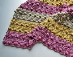 Ravelry: Bumpy Wiggle Baby Blanket pattern by Cindy Toner