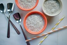OneHungryMama no-cook coconut chia pudding. Making this tonight!