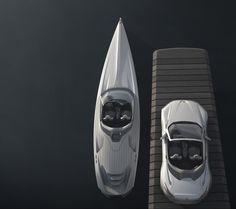 30 метри концепт јахта со сосема нова архитектура, автоматизирано управување и перфектно интегриран стаклен покрив кој ќе овозможи уживање во внатрешноста како под отворено небо.    Концепт возилото Peugeot SR1 е инспирација за овоа луксузна, елегантна, моќна, ултра безбедна и брза концепт јахта.     Внатрешноста од софистицираниот и луксузен Peugeot SR1 е соодетно пресликана кај оваа концепт јахта уредена со најновата hi-tech и multi-touch дислпеј опрема.