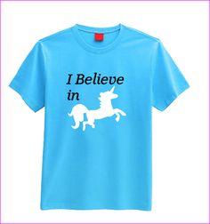 I believe in Unicorns T-shirt (children's)