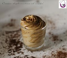 Crema diplomatica al caffè, ricetta tradizionale e ricetta Bimby