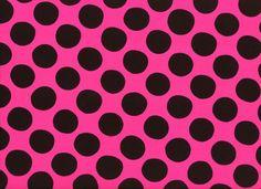 Dot Challis Fabric Pink- Harts Fabric
