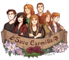 #savecarmilla (even though we have a season 2, I love this pic :) :)