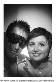 Livia Stoianova & Yassen Samouilov on aura tout vu aftershow accessories winter 2012 2013 at VIP Room- Studio Harcourt