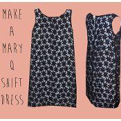 Mary Q Shift - via @Craftsy
