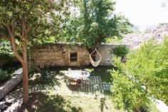 House with garden in central Modica, Italia.